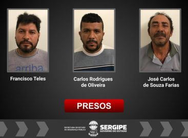Três homens suspeitos de estelionato são presos em operação do Depatri em Aracaju