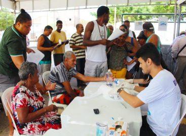 Mutirão contra o Diabetes acontece neste sábado, 17, no Largo da Aparecida