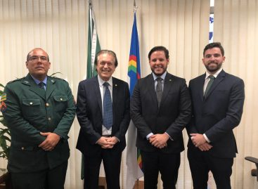 Cabo Amintas se reúne com executiva nacional do PSL em Brasília