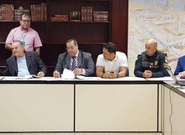 Samuel participa de assinatura de TAG sobre o posto imediato dos PMs da reserva