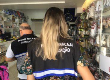 Prefeitura de Aracaju fiscaliza lojas de produtos médico-hospitalares