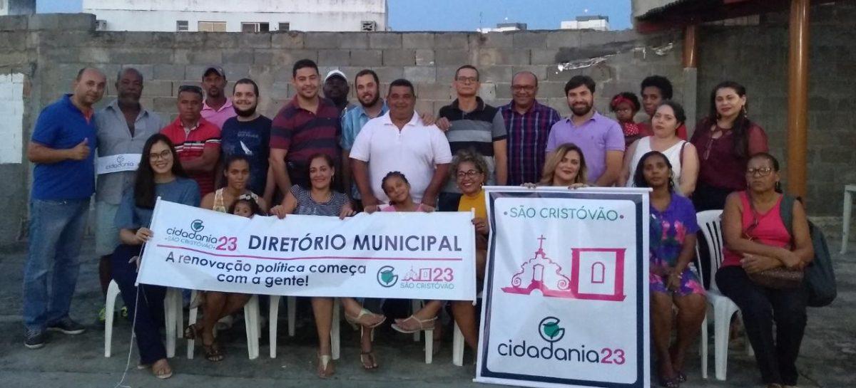 Cidadania 23 elege diretório e coronel Rocha é o presidente em São Cristóvão