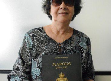 Escritora Lúcia Marques lança livro sobre a fundação da cidade de Maruim
