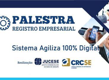 """Capacitação sobre a """"Jucese 100% Digital"""" acontecerá em Itabaiana e Estância"""