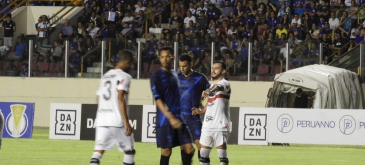 Confiança e Santa Cruz ficam no empate pela décima sexta rodada da Série C