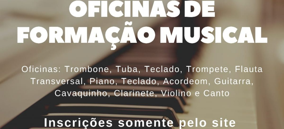 Conservatório de Música de Sergipe abre Processo Seletivo para Oficinas de Formação Musical