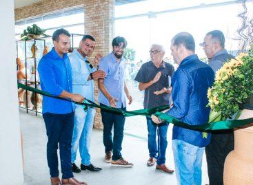 Inaugurado o Centro Comercial de Artesanato em Santana do São Francisco