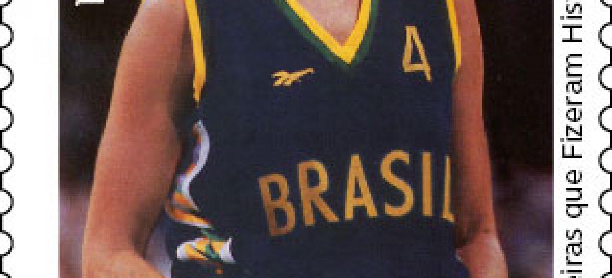 Rainha do basquete Hortência é homenageada com emissão especial