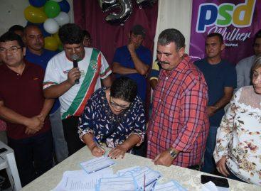 PSD realiza ato e fortalece nome de Aelson Santos como pré-candidato a prefeito de Propriá