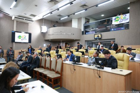 Câmara municipal de Aracaju debate alterações na Lei 4.422/2013