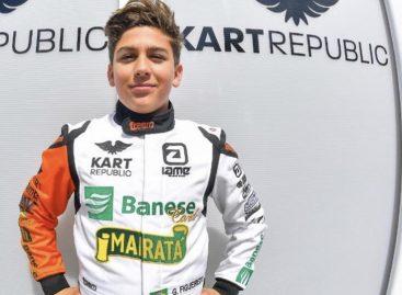 Guilherme Figueiredo vai disputar Brasileiro Rotax de Kart em São Paulo pela 1ª vez