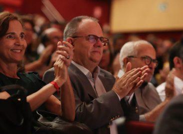 Belivaldo participa de evento ao lado da vice-governadora do Ceará