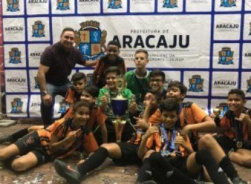 Taça Cidade de Aracaju de Futsal chega ao final promovendo inclusão social