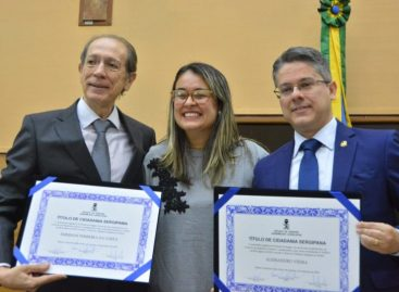 Dr. Émerson e senador Alessandro reconhecidos como sergipanos