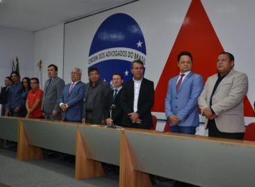 Vereadores de Aracaju participam de posse do Sindicato dos Jornalistas