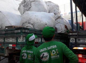 CPAC realiza entrega de carrinho para coletas seletivas em Itabaiana