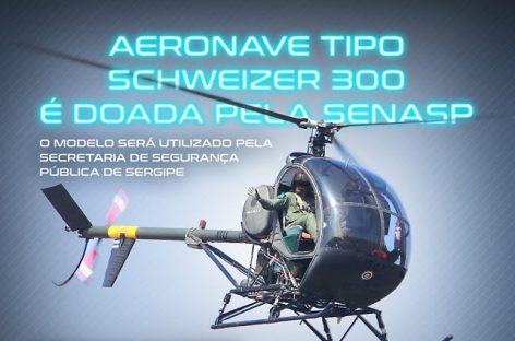 GTA de Sergipe recebe helicóptero que está parado por falta de manutenção