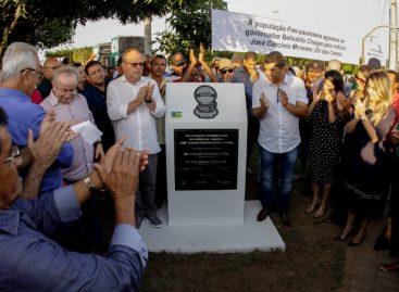 Governo inaugura rodovia que liga Frei Paulo ao povoado Serra Redonda