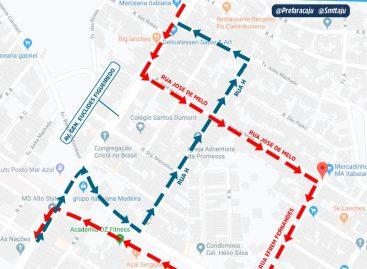 Prefeitura altera bloqueio no trânsito da Euclides Figueiredo devido ao avanço das obras na via