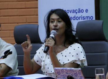 Em Brasília, vice-governadora participa do 18º Encontro Nacional dos Estudantes
