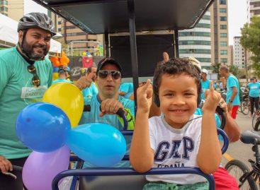 Passeio ciclístico Pedalando Sem Barreiras marca início da Semana Aracaju Acessível