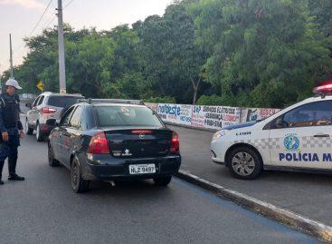 CPTRAN efetua quatro prisões por embriaguez ao volante neste final de semana