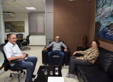 Edvaldo se reúne com Maria do Carmo para discutir emendas para Aracaju