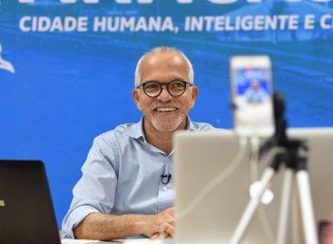 Edvaldo anuncia substituição de empresa que executa obra da avenida Beira Mar