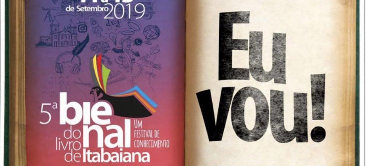 Inicia nesta quarta-feira a V Bienal do Livro de Itabaiana