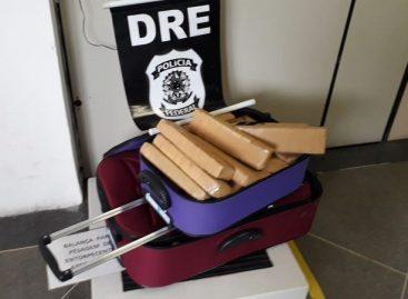 Homem é preso em Japaratuba com cerca de 50 kg de maconha dentro de ônibus