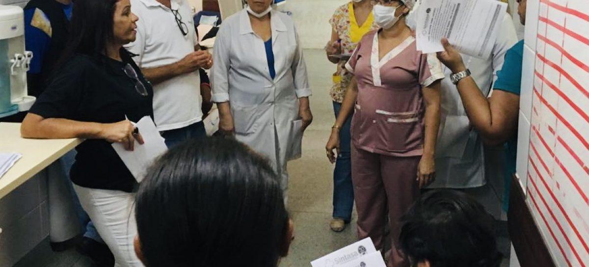 Sintasa divulga paralisação aos servidores do Hospital de Propriá e Maternidade de Capela