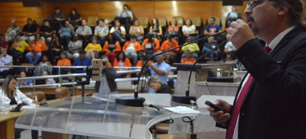 Em Audiência na Alese, Petroleiros defendem a permanência da Petrobras em Sergipe