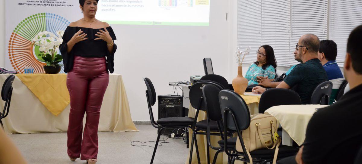 Diretoria de Educação de Aracaju reúne gestores escolares para apresentar o Mais Ideb