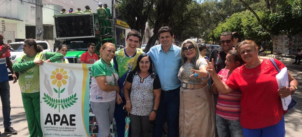 APAE de Itabaiana agradece ao prefeito Valmir de Francisquinho por doação de terreno