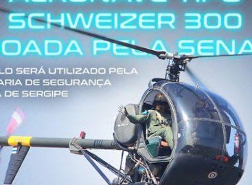 Em nota, SSP diz que aeronave do GTA é usada para treinamentos e apoio
