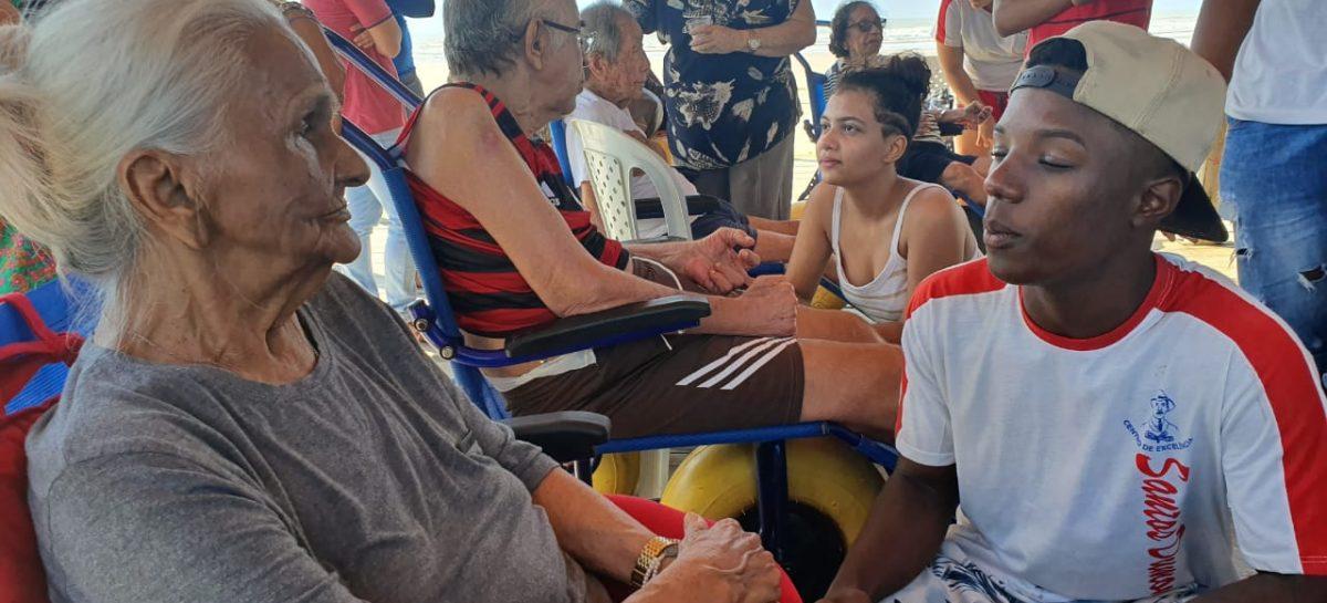 Centro de Excelência e Projeto Estrela do Mar promovem dia de solidariedade