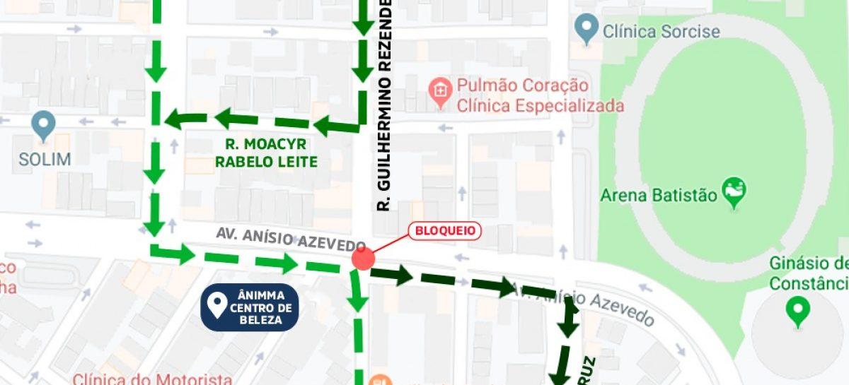 Pontilhão da rua Guilhermino Rezende será interditado para obra de reconstrução