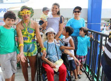 Camarote da Acessibilidade garante inclusão social no Desfile Cívico