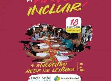 4º Encontro da Rede de Leitura Inclusiva acontece dia 18 de setembro
