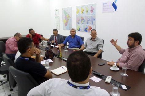 Sergas recebeu a diretoria do Sintax e discutiu a redução da alíquota no ICMS do Gás Natural Veicular