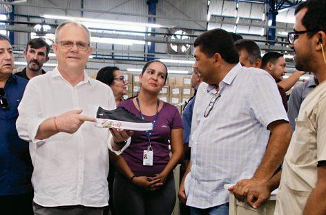 Incentivos do governo ampliam atuação da fábrica de calçados Vulcabrás Azaleia em Sergipe