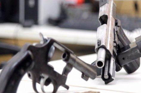 Mais de 7,5 mil armas de fogo foram apreendidas em Sergipe desde 2013