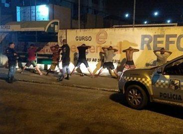 Jogo de futsal termina em confusão provocada por torcidas organizadas no complexo Batistão