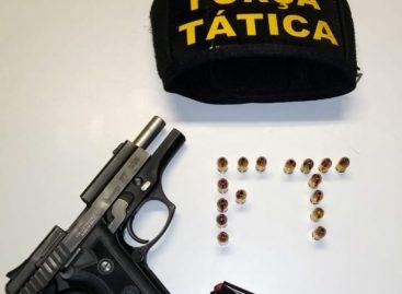 Tático prende individuo com mandado de prisão por homicídio no São Conrado