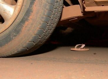 Criança fica gravemente ferida após ser atropelada ao descer de ônibus escolar