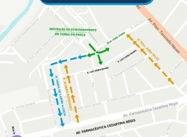 Quatro ruas do Jabotiana passam a ter sentido único a partir desta quarta, 16