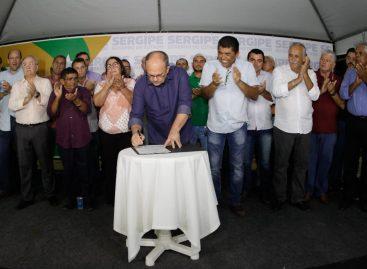 Governador assina decreto beneficiando produtores de milho de Sergipe