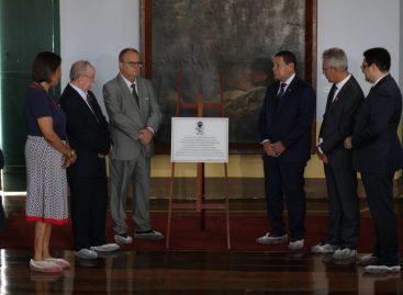 Belivaldo Chagas apresenta riquezas históricas e culturais de São Cristóvão a vice-presidente do República