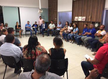 Senador Alessandro realiza reunião entre as colônias de pescadores