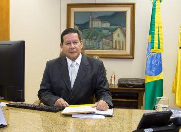 Vice-presidente Mourão será homenageado em Sergipe e fará palestra a empresários